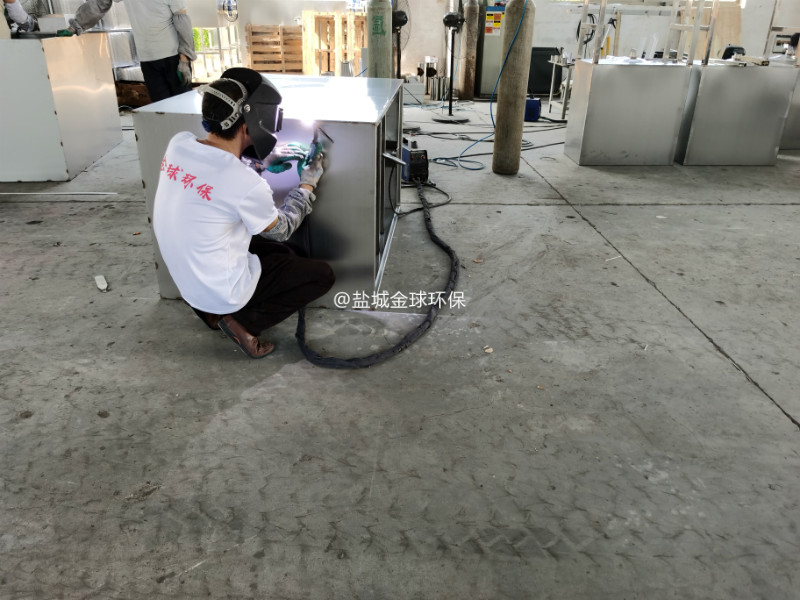 商业综合体油水分离器生产车间
