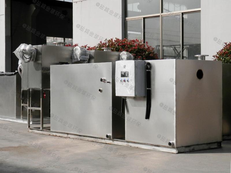 攀枝花20立方长2400*宽1200*高1200尺寸隔油提升装置原理简图