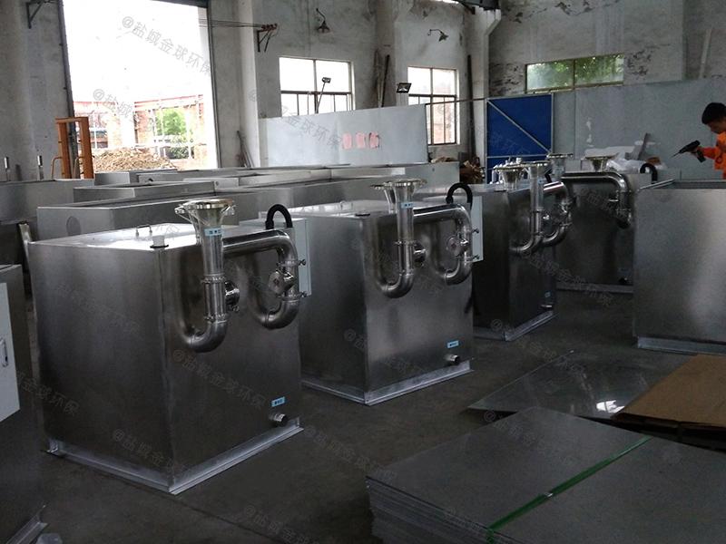 广元公寓油水分离器发货