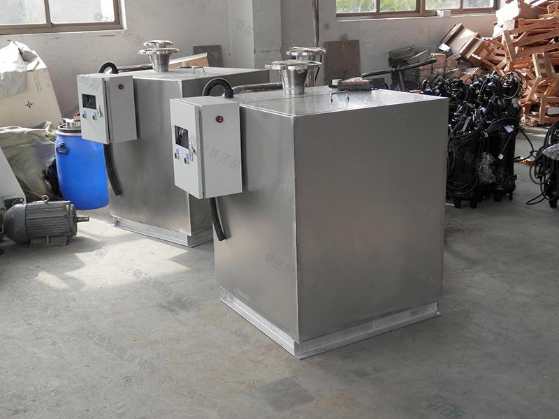 甘孜餐饮泔水油水分离器改造厂家