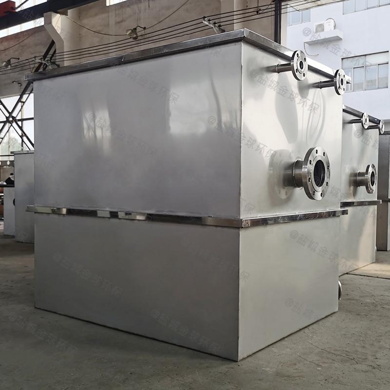 巴中工厂食堂油脂分离池系统