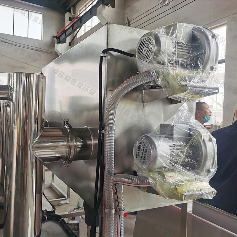 达州餐厅废水隔油隔渣设备发货