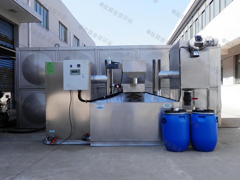 巴中厨房废水隔油隔渣装置的价格