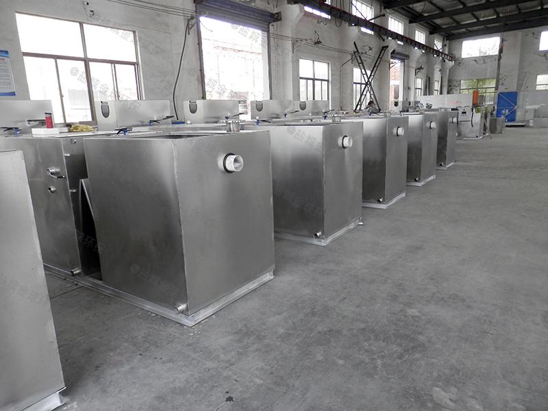 广安小区生活污水水油分离器规格尺寸