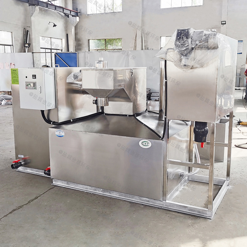乐山厨房废水隔油隔渣设备系统