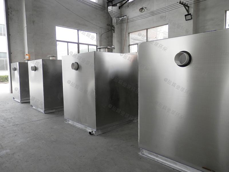 雅安酒店废水油水分离器隔油效率
