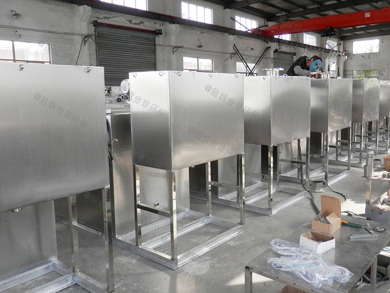 自贡厨房废水隔油隔渣设备怎么使用