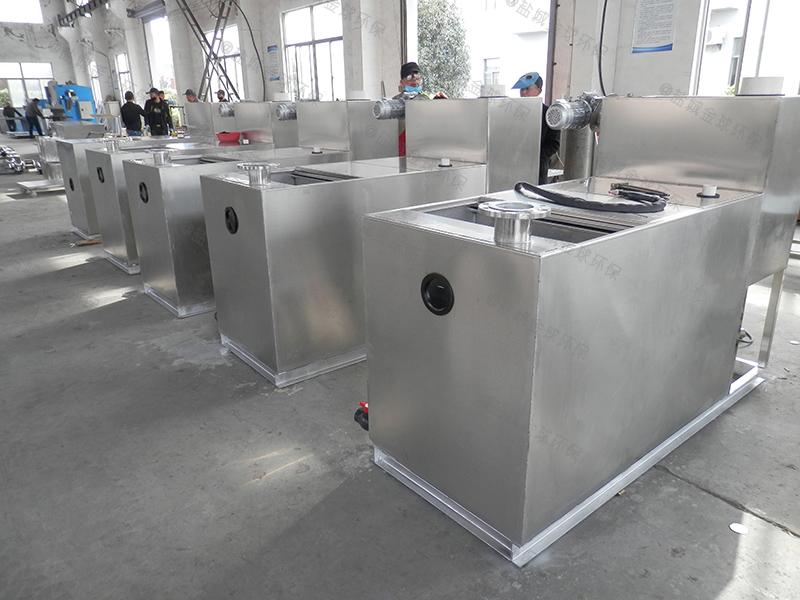 成都学校食堂泔水分离设备油脂生产成套设备