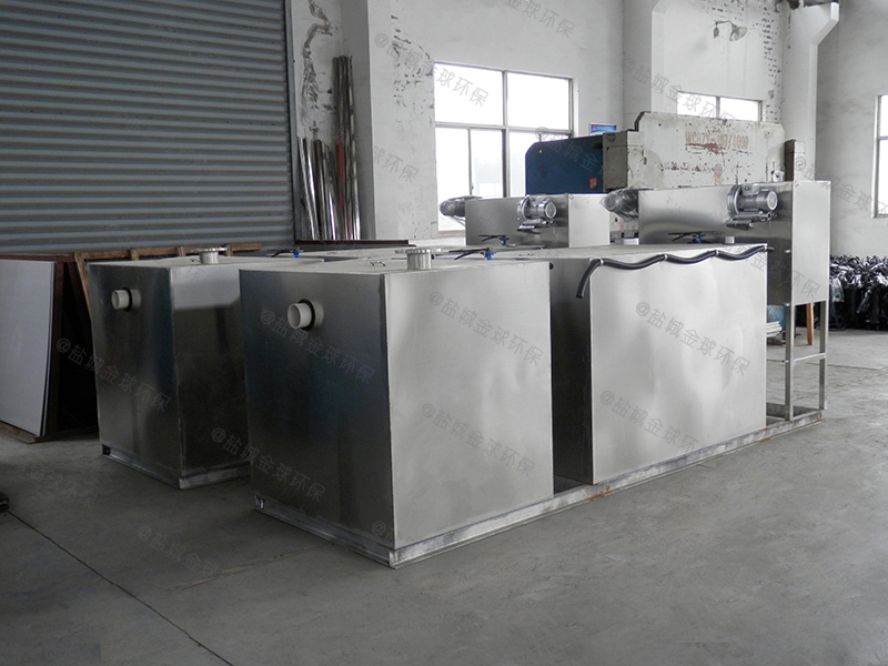 自贡餐饮泔水隔油器改造