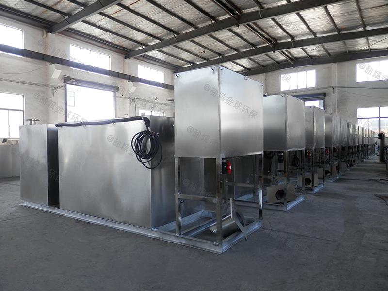 自贡工程隔油隔渣装置解决方案