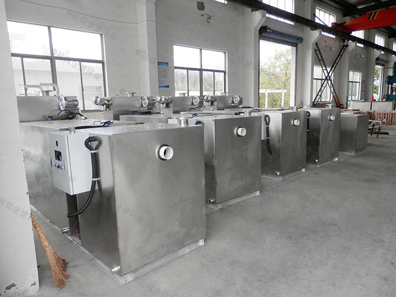 阿坝饭店用泔水分离器改造厂家