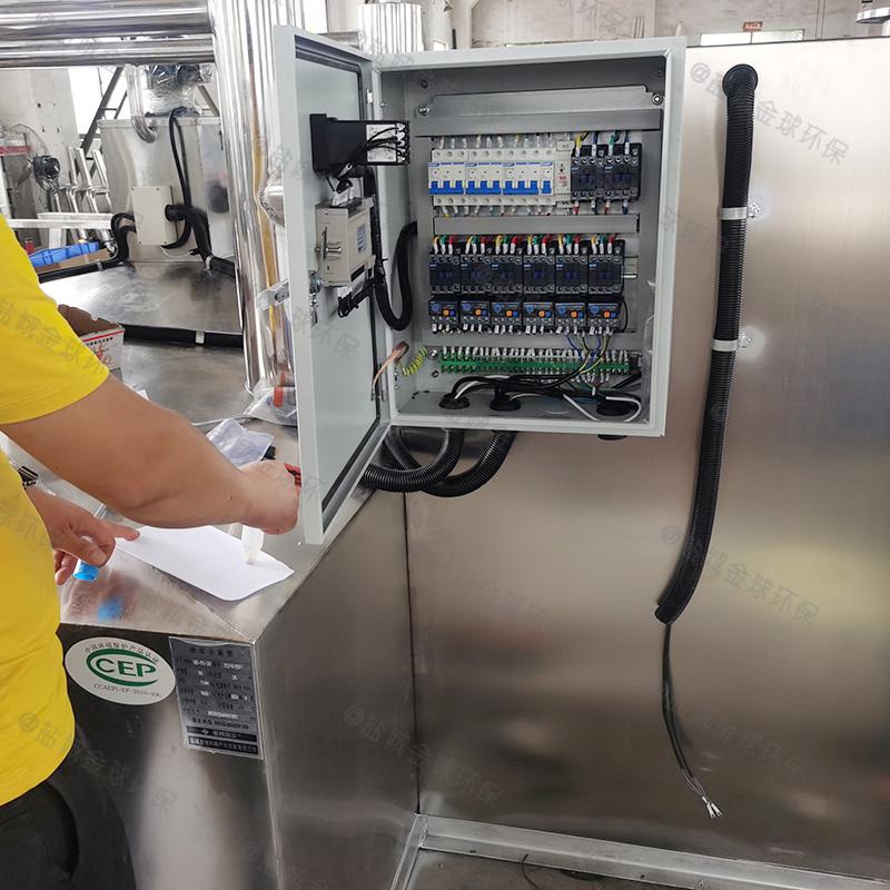 自贡餐饮废水隔油隔渣设备系统