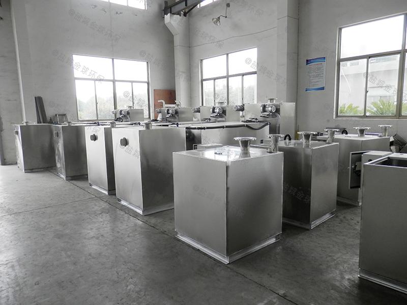 四川餐饮电动隔油提升设备供应