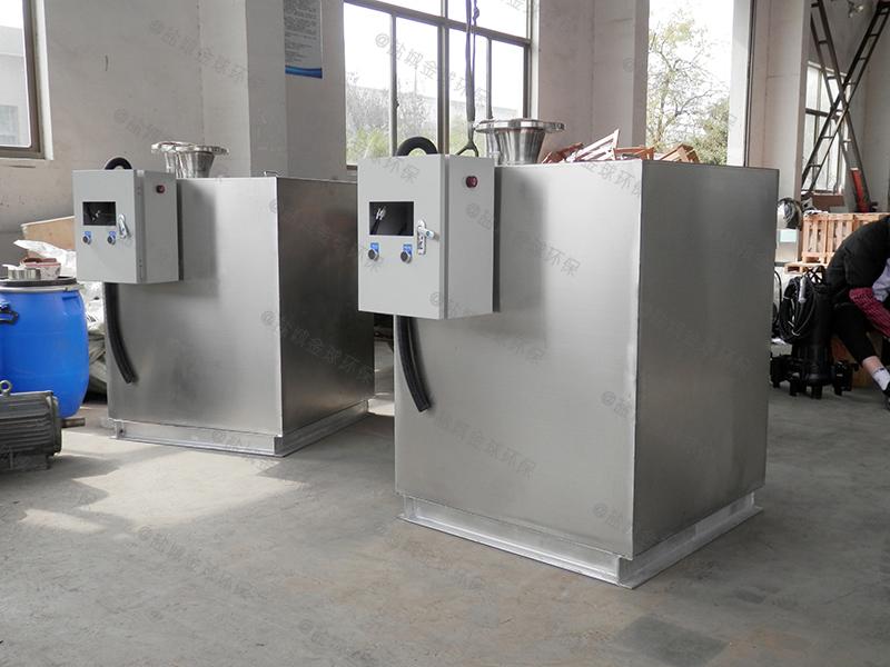南充饭店用隔油提升一体化设备一体化泵站厂家
