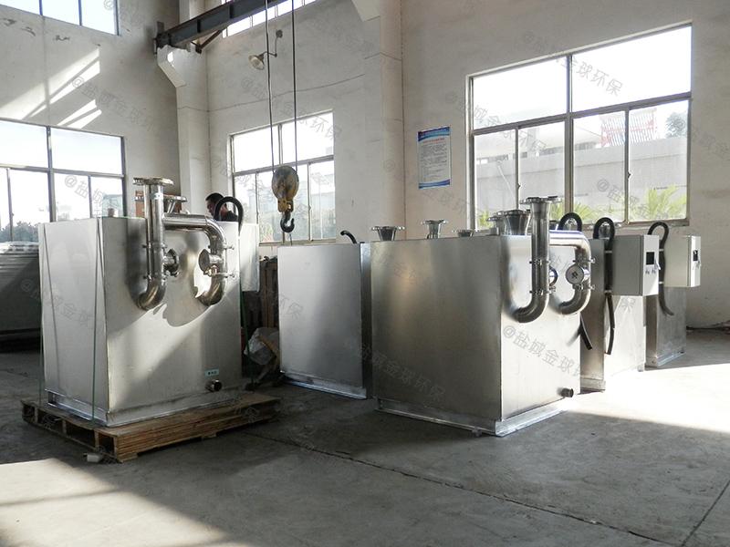 资阳厨房废水隔油设备使用寿命