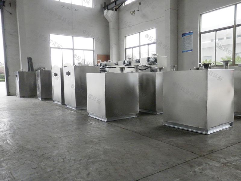 甘孜餐饮业水油分离器油脂生产成套设备