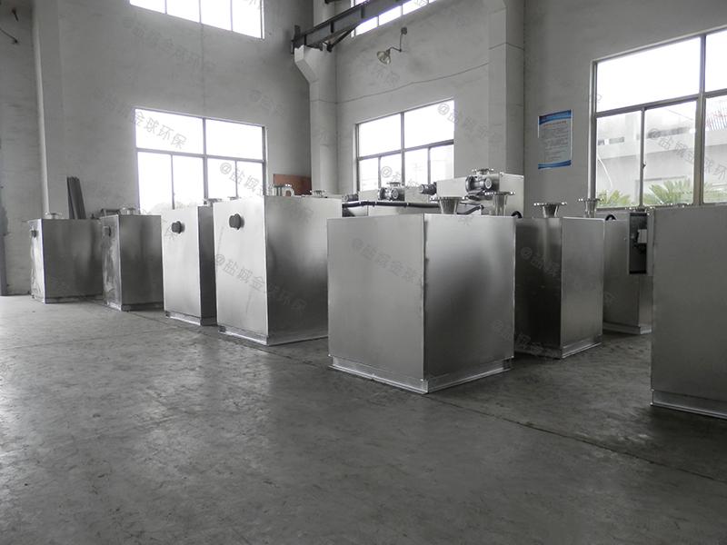 甘孜食堂用泔水分离设备的结构