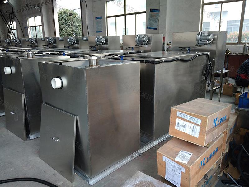 达州厂家定制隔油隔渣设备做法与尺寸图