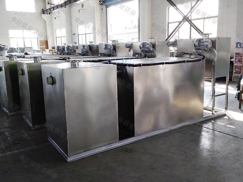甘孜厨房污水一体化隔油提升设备长宽比