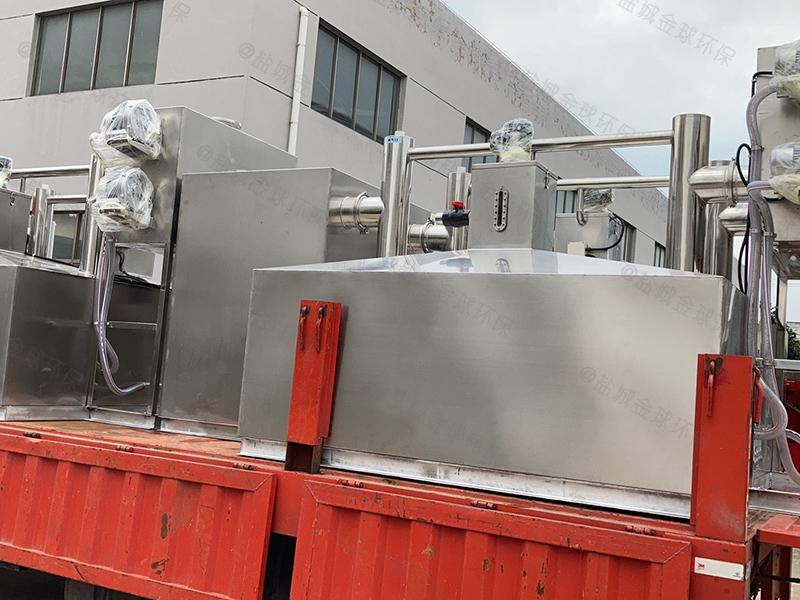 甘孜20吨每秒油脂分离装置安装