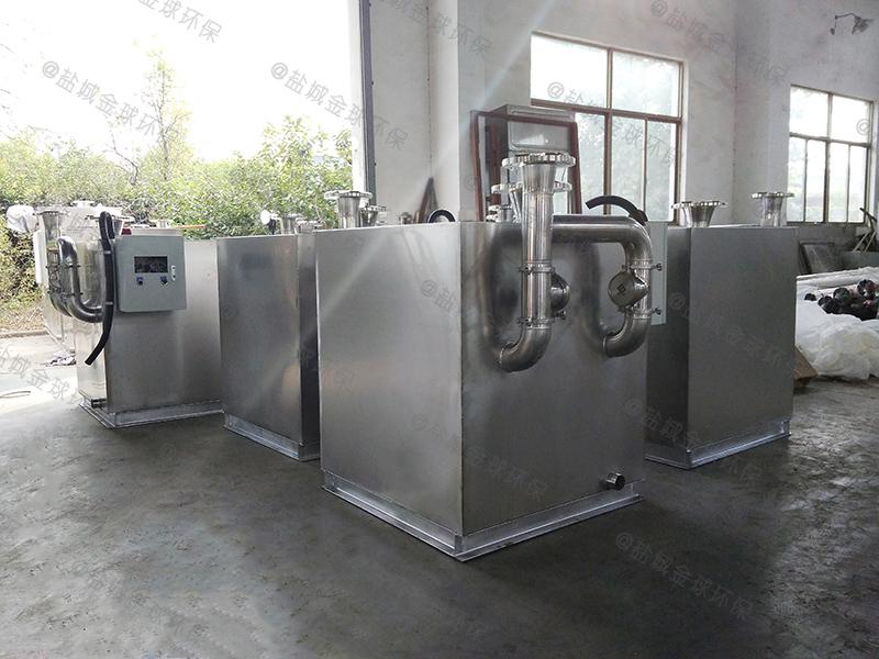 内江防腐防臭一体化隔油提升设备安装