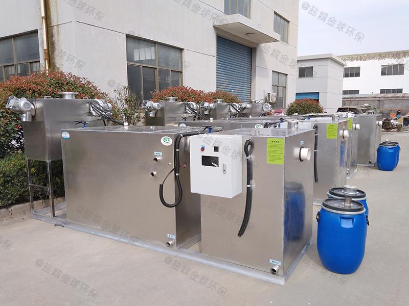 眉山餐饮行业隔油处理装置图片