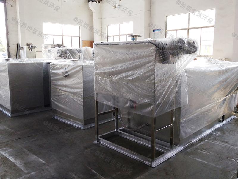 眉山20吨每秒油脂分离设备做法与尺寸图