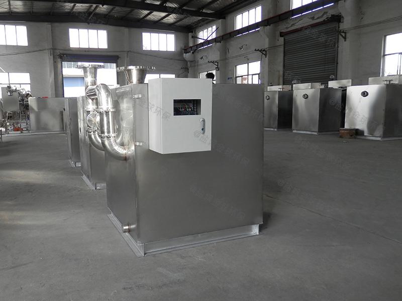 内江高品质油脂分离装置做法与尺寸图