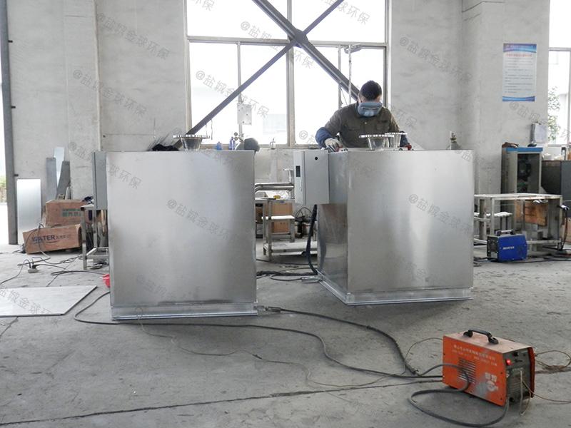 广元厨房污水隔油提升一体化设备做法效果图