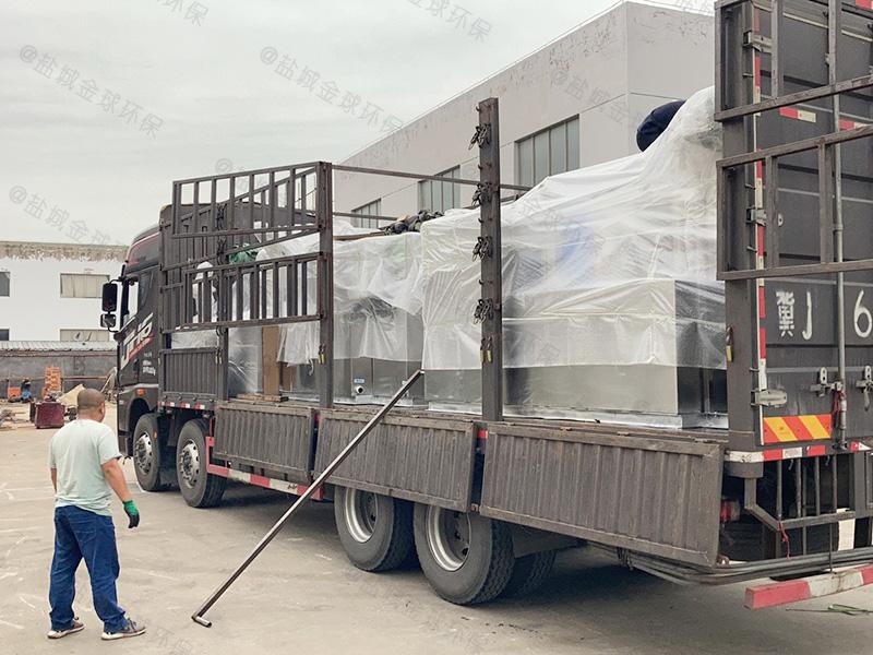 泸州20吨每秒一体化隔油提升设备施工图