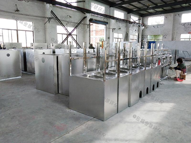 达州厨房污水隔油处理设备做法