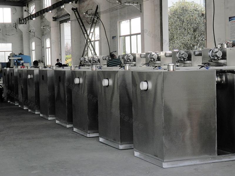 内江餐余污水隔油处理装置区别