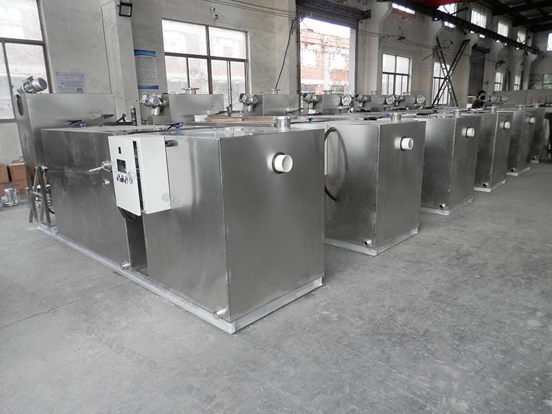 泸州餐余污水一体化隔油提升设备规范和标准