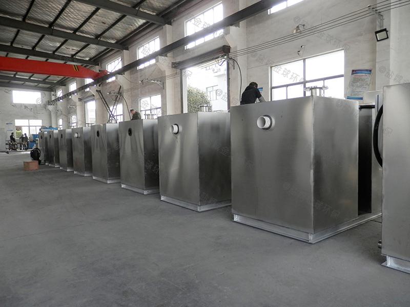 达州厨房污水一体化隔油提升设备型号