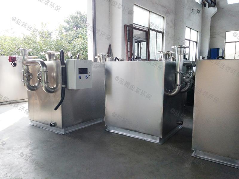 自贡防异味一体化隔油提升设备安装