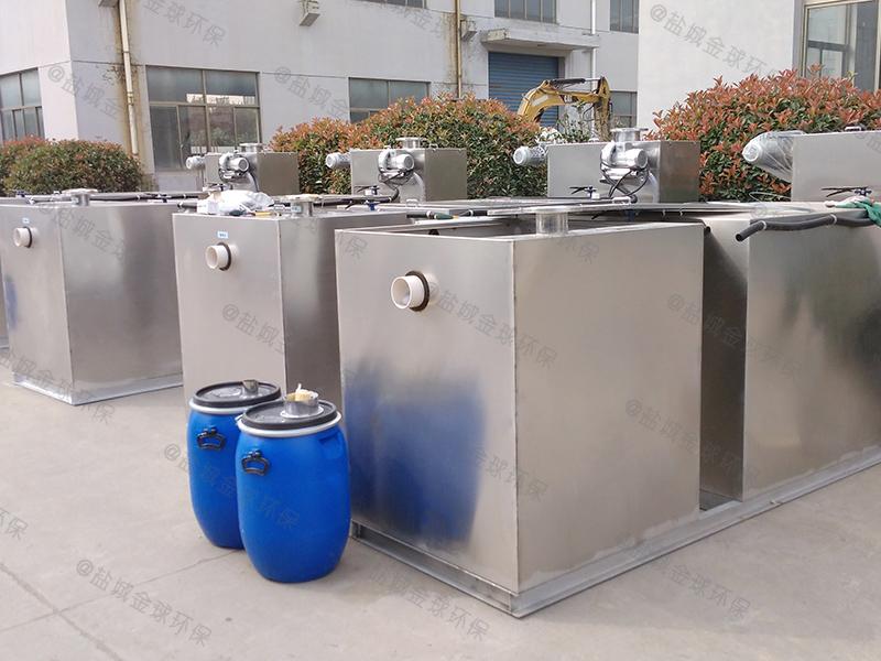资阳50吨每秒一体化隔油提升设备效果