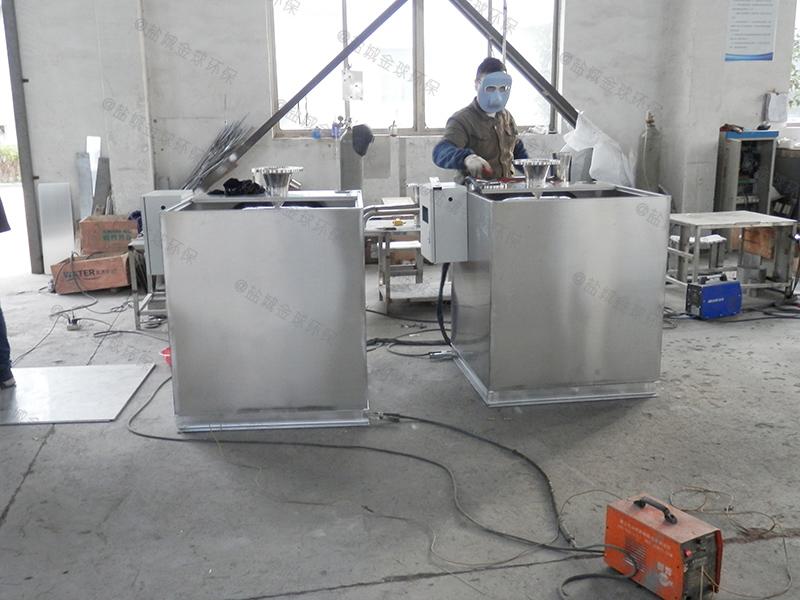 资阳刮油油脂分离装置内部结构图
