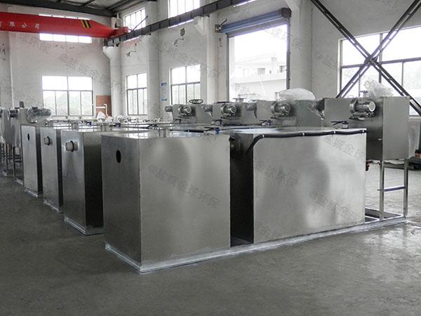 厨房用中小型隔渣隔油器自动提升装置类型