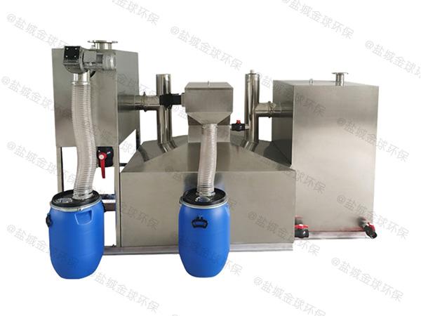 餐饮专用3.5米*1.35米*1.85米隔渣隔油分离器生产厂
