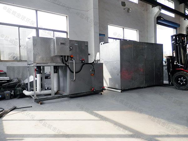 工程3.1米*1.2米*1.85米隔油除渣隔油一体机使用寿命