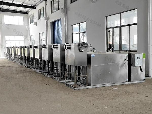 工地甲型混凝土隔油器提升设备排放标准