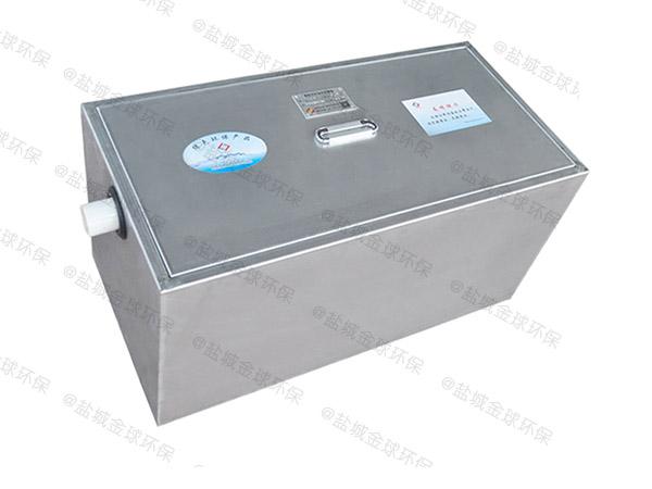 餐饮专用小型不锈钢隔油强排设备排名