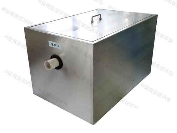 餐饮环保大型用砖做隔油过滤设备使用方法