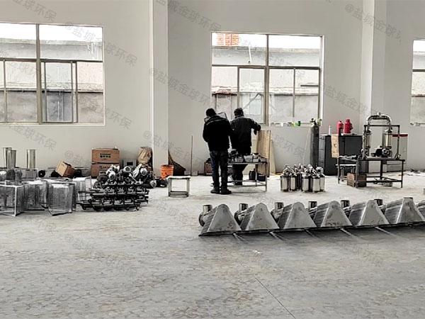 厨下型8吨的长宽高混凝土隔油污水提升一体化设备市场