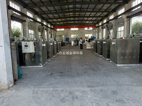 厨下型3.5米*1.35米*1.85米隔油隔油一体化装置使用方法