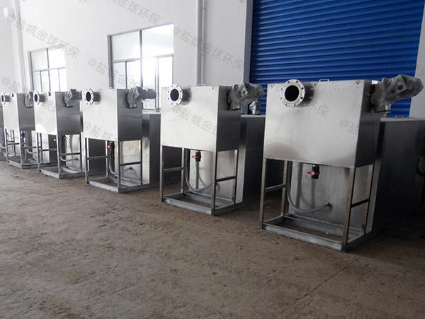 厨用1000人隔渣隔油强排一体化设备生产商