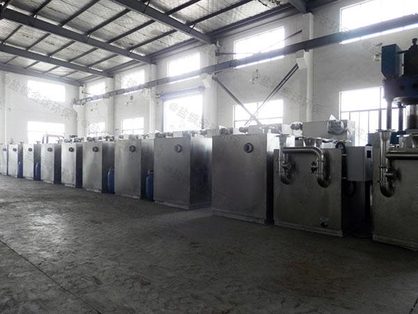 单位食堂1000人隔悬浮物隔油池设备品牌排行