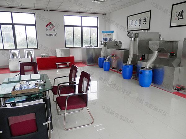 单位食堂3.1米*1.2米*1.85米隔渣隔油全自动提升设备施工方案
