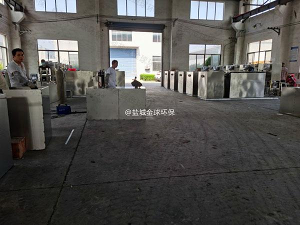 厨下型100人隔油隔渣隔悬浮物隔油池提升设备生产厂商