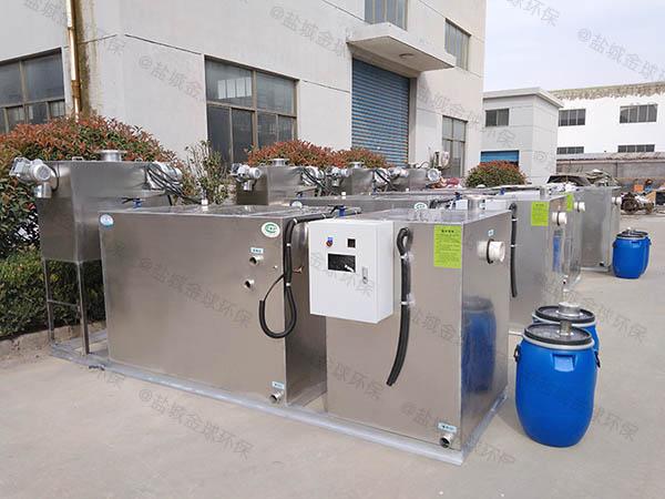 餐用1000人隔油隔油全自动提升设备内部结构